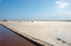 Salt hav och havssol Royaltyfri Fotografi