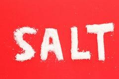 salt havswhite Arkivbild
