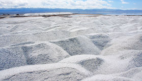 Salt heap Stock Images