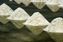 Salt heap Stock Images