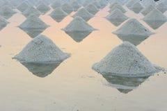 Salt heap Royalty Free Stock Photo