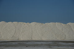 Salt hill Stock Image