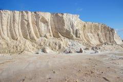 Salt hill landscape Royalty Free Stock Images