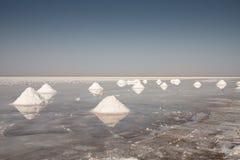 Salt hills Stock Photography