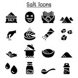 Salt icon set vector illustration. Graphic design Stock Photography