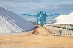 Salt industry Royalty Free Stock Image