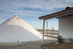 Salt industry Stock Photography