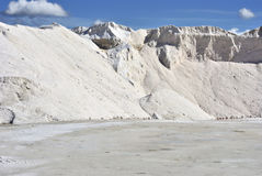Salt industry Stock Photos