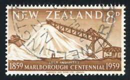 Salt Industry Grassmere. NEW ZEALAND - CIRCA 1959: stamp printed by New Zealand, shows Salt Industry, Grassmere, circa 1959 royalty free stock photo