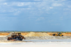 Salt Industry royalty free stock photography