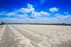 The salt industry is the largest salt. The salt industry is the largest salt in Thailand. Phetchaburi Bang Tabun royalty free stock images