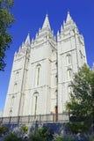 Salt Lake świątynia, Salt Lake City, Utah Fotografia Royalty Free