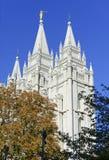 Salt Lake świątynia, Salt Lake City, Utah Obraz Stock