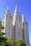 Salt Lake świątynia, Salt Lake City, Utah Fotografia Stock
