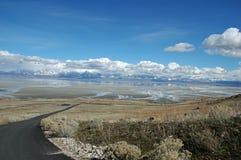 Salt Lake imagem de stock