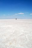 Salt lake. In Konya, Turkey Royalty Free Stock Images