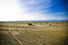 Salt lake Arkivbild