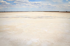 Salt Lake Baskunchak, Rusland Stock Fotografie