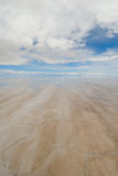 Salt lake in bolivia Stock Images