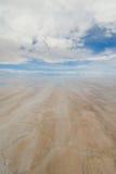 Salt lake in bolivia Stock Images