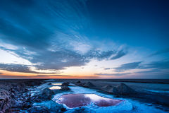 Salt lake Royalty Free Stock Image