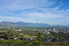 Salt Lake City Stock Image
