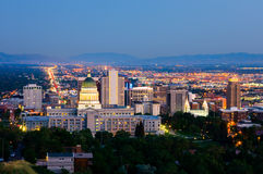 Salt Lake City Stock Photography