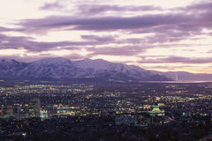 Salt Lake City, Stock Foto