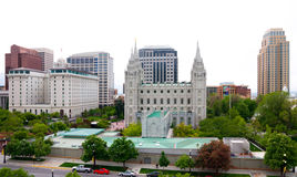 Salt Lake City Royalty Free Stock Photo
