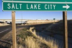 Salt Lake City Stock Foto
