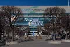 Salt Lake City : Arène de solutions d'énergie Photos libres de droits