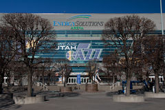 Salt Lake City: Arena das soluções da energia Fotos de Stock Royalty Free