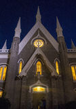 The Salt Lake City Assembly Hall Royalty Free Stock Image