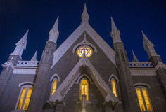 The Salt Lake City Assembly Hall Stock Photography