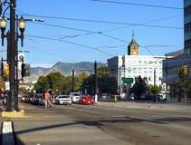 Salt Lake City céntrico, Utah, los E.E.U.U. fotos de archivo libres de regalías