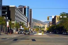 Salt Lake City céntrico, Utah, los E.E.U.U. imagen de archivo