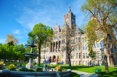 Salt Lake City and County Building. On a sunny day Royalty Free Stock Image