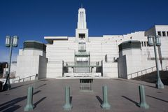 Salt Lake City del centro Immagine Stock