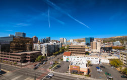 Salt Lake City Downtown. View of the downtown of Salt Lake City skyline , Utah, USA Stock Image
