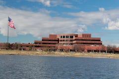 Salt Lake City: Franklin Covey on Decker Lake. Image of the Franklin Covey building on Decker Lake in West Valley, Utah royalty free stock image