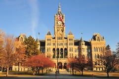 Salt Lake City i okręgu administracyjnego budynek Fotografia Stock