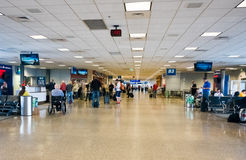 Salt Lake City International Airport. Terminal in the Salt Lake City International Airport Royalty Free Stock Image
