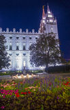The Salt Lake City Mormons Temple Stock Images