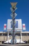 Salt Lake City Olimpijski kocioł Zdjęcia Stock