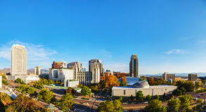 Salt Lake City panoramic overview Royalty Free Stock Photography