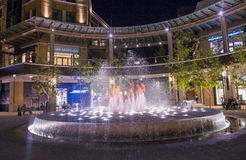 Salt Lake City stadsliten vik Arkivfoto