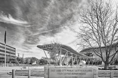 Salt Lake City, usa - Październik 23, 2016: Salt Lake City społeczeństwo Sa Obrazy Stock
