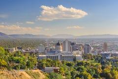 Salt Lake City, Utá Fotografia de Stock Royalty Free