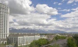 Salt Lake City Utah royaltyfri bild