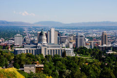 Salt Lake City, Utah Stock Photography